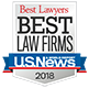 2018 Best Law Firms Award
