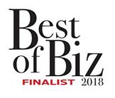 2018 Best of Biz Award