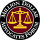 Million dollar advocates Award