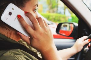 phone call from car after accident