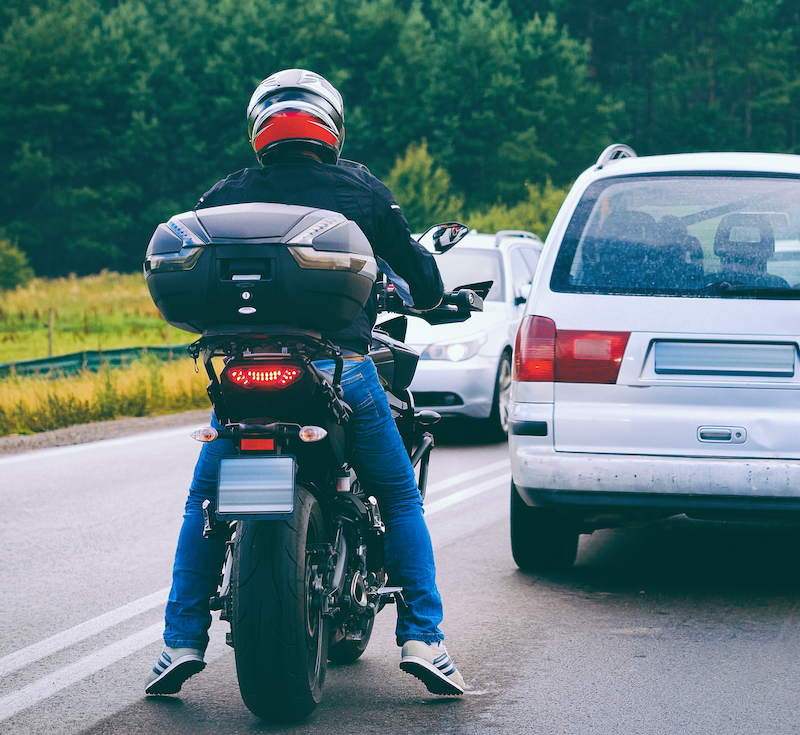 Car vs. Motorcycle Accidents