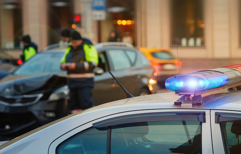 Injured in a Car Accident with a Police Car? Now What?