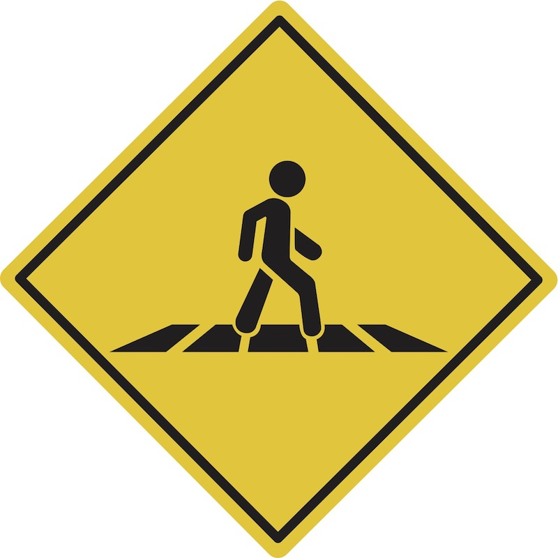 Pedestrians and Sharing the Road Laws