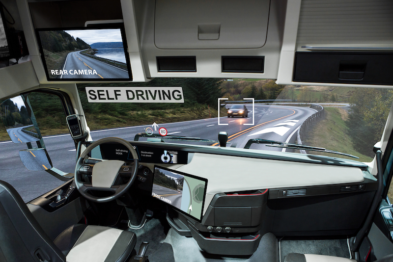 self driving truck accidents